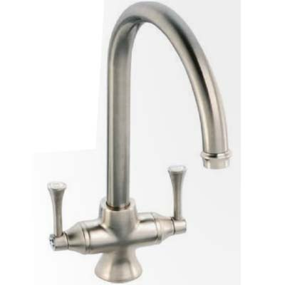 Clearwater twin lever monobloc mixer with swivel spout chrome lancp - Luisina mixer ...