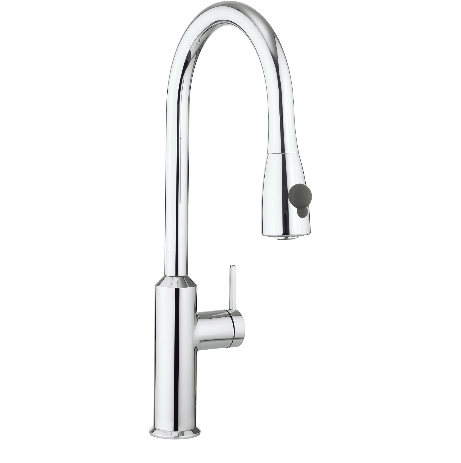 Crosswater cook side lever kitchen mixer with pull out spray co716dc - Luisina mixer ...