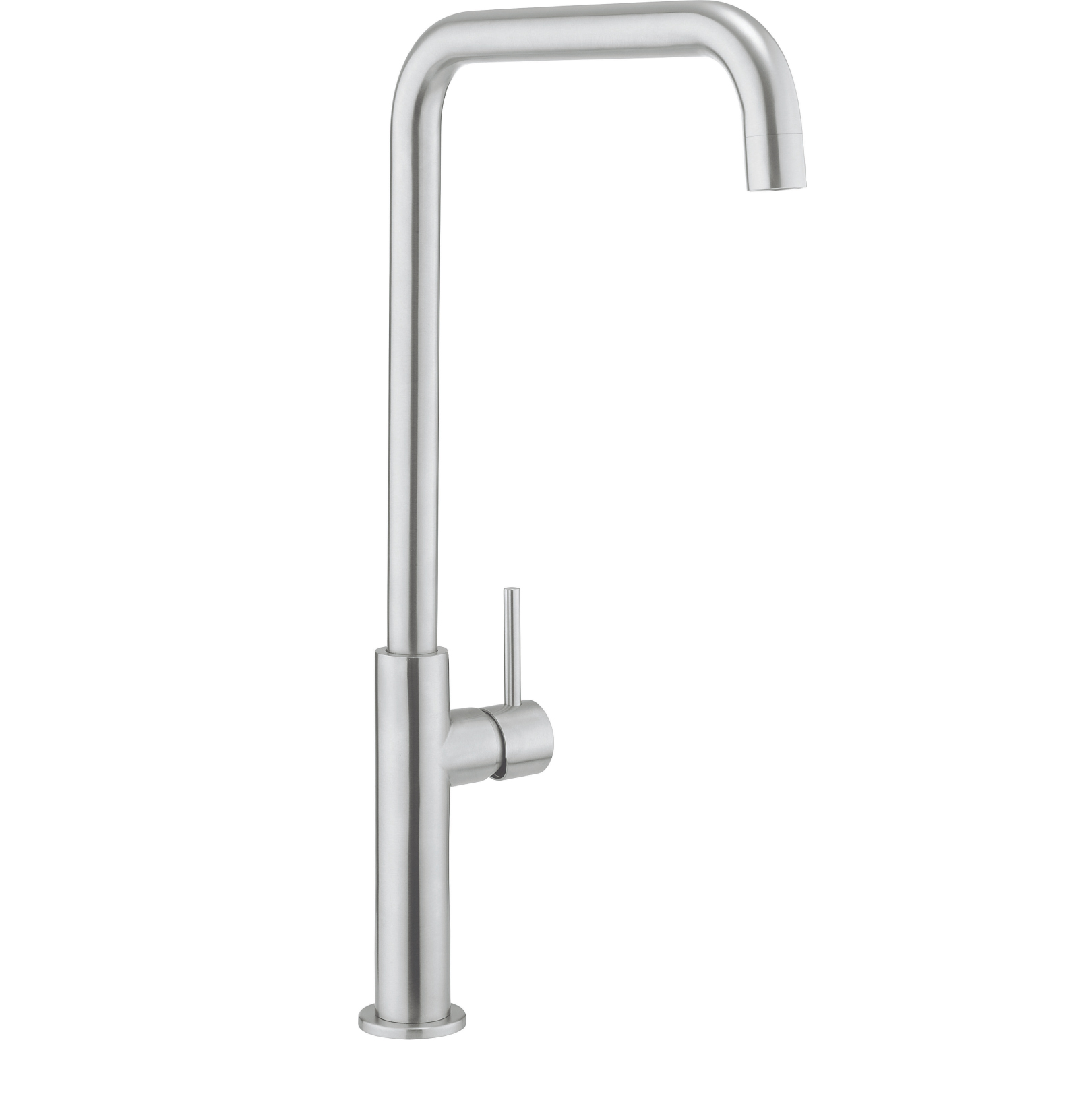 Crosswater ninety tall side lever kitchen mixer stainless steel nt712ds - Luisina mixer ...