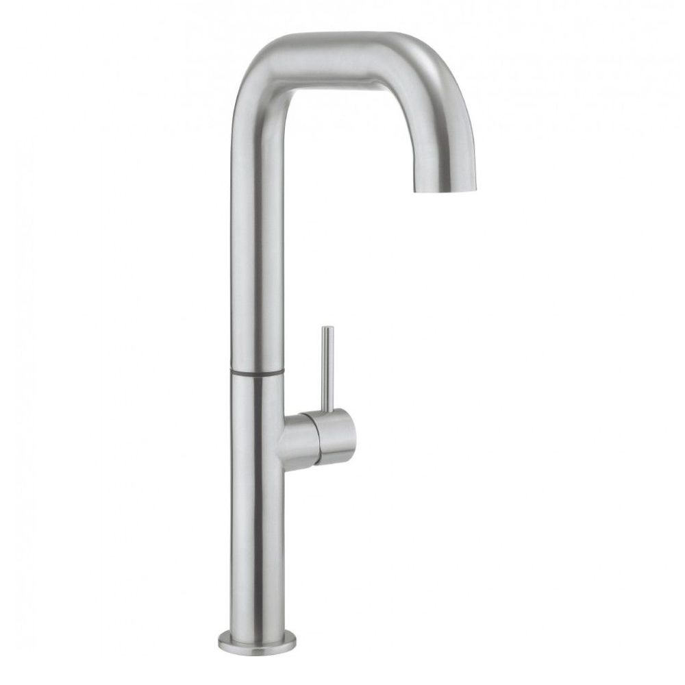 Crosswater tube tall side lever kitchen mixer stainless steel tu715ds - Luisina mixer ...
