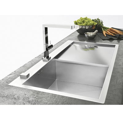 Franke Planar Slim-Top PPX 211 Kitchen Sink RHD 127.0203.464