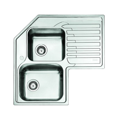 Franke Studio STX 621-E Stainless Steel Kitchen Sink RHD 101.0001.044