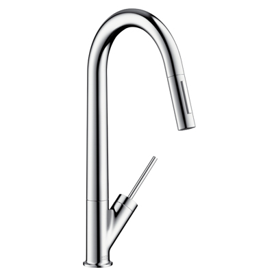 Hansgrohe Axor Starck Single Lever Mixer With Pull Out